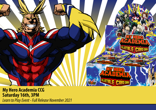 My Hero Academia CCG - Learn to Play Event
