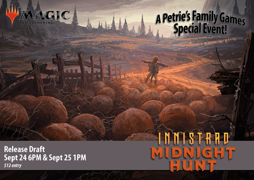 Magic the Gathering: Innistrad Midnight Hunt Release Draft