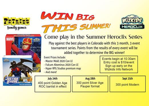 HeroClix Summer Series