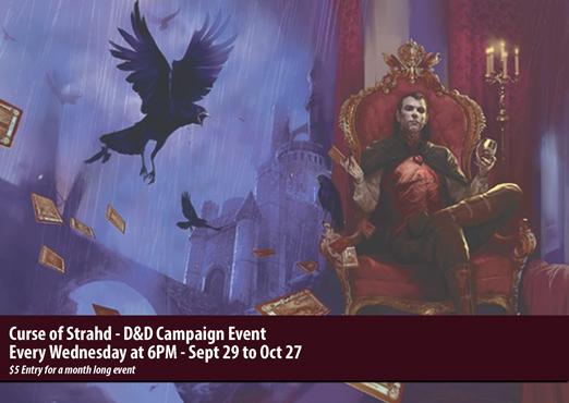 D&D: Curse of Strahd Event