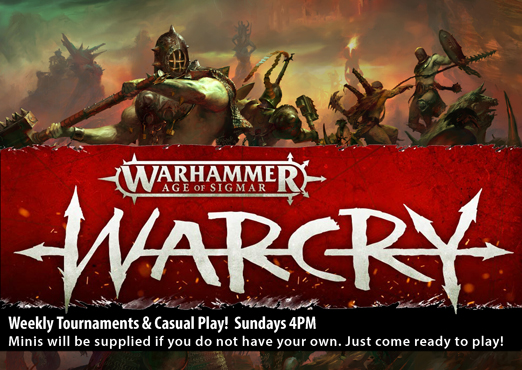 Warcry Casual
