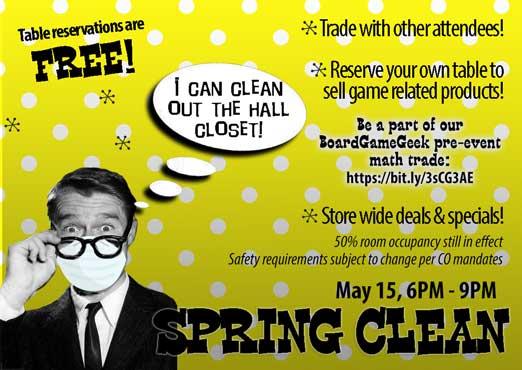 Spring Clean Game Swap & Super Sale